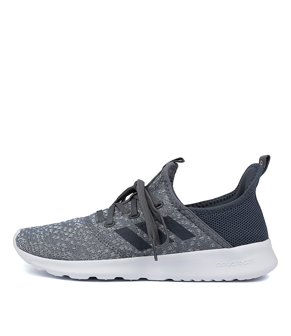 Buy Adidas Cloudfoam Pure Ad Grey Onix White Sneakers online with free shipping