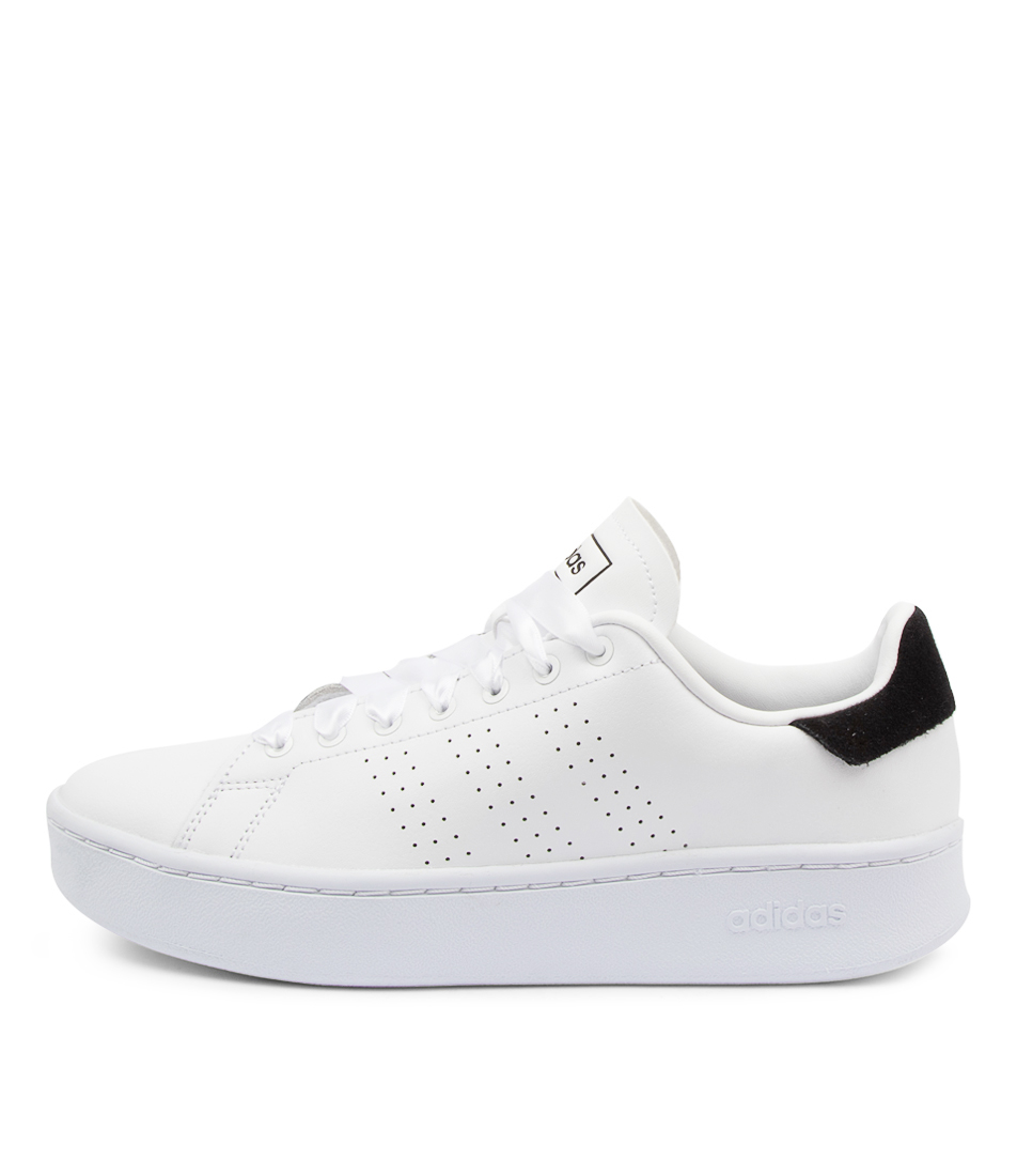 Buy Adidas Advantage Bold W Ad White White Bla Sneakers online with free shipping