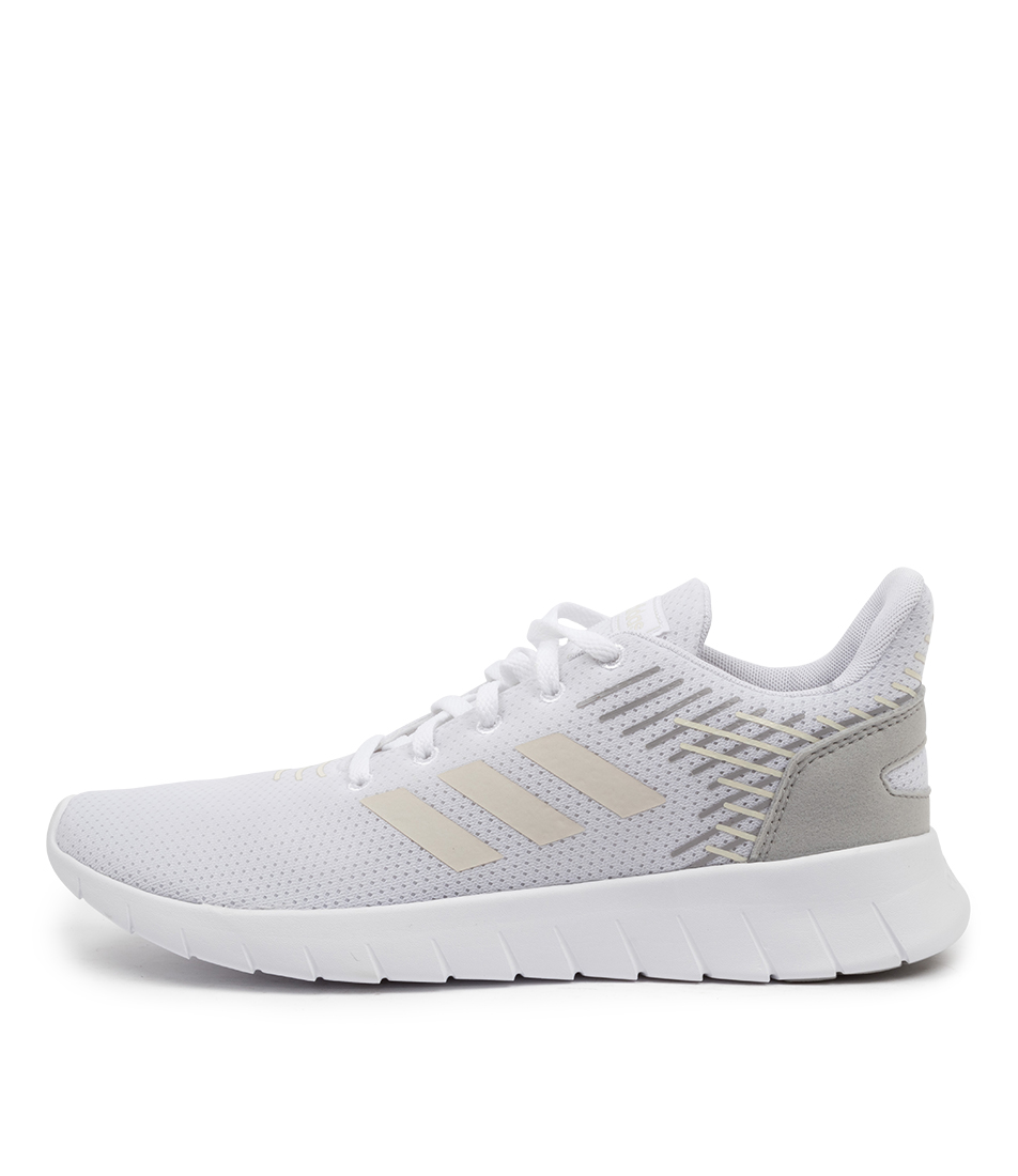Buy Adidas Asweerun W Ad White White Gre Sneakers online with free shipping