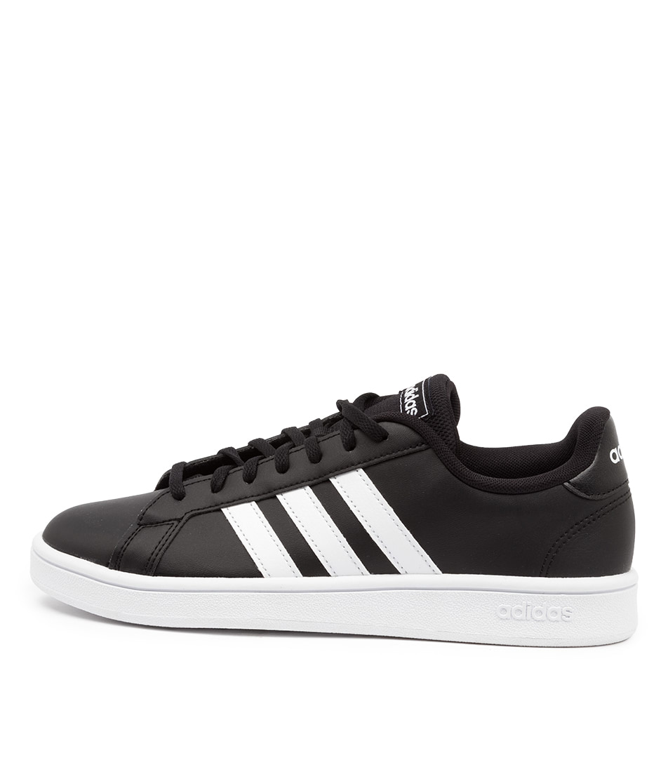 Buy Adidas Grand Court Base W Ad Black White Black Sneakers online with free shipping