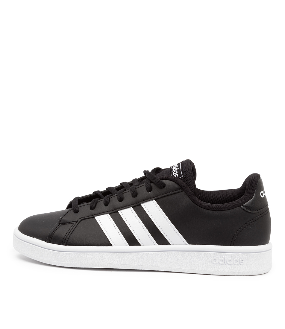 Buy Adidas Grand Court Base W Ad Black White Bla Sneakers online with free shipping