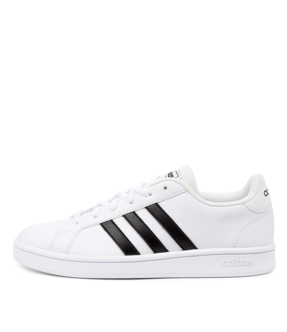 Buy Adidas Grand Court Base W Ad White Black Whi Sneakers online with free shipping