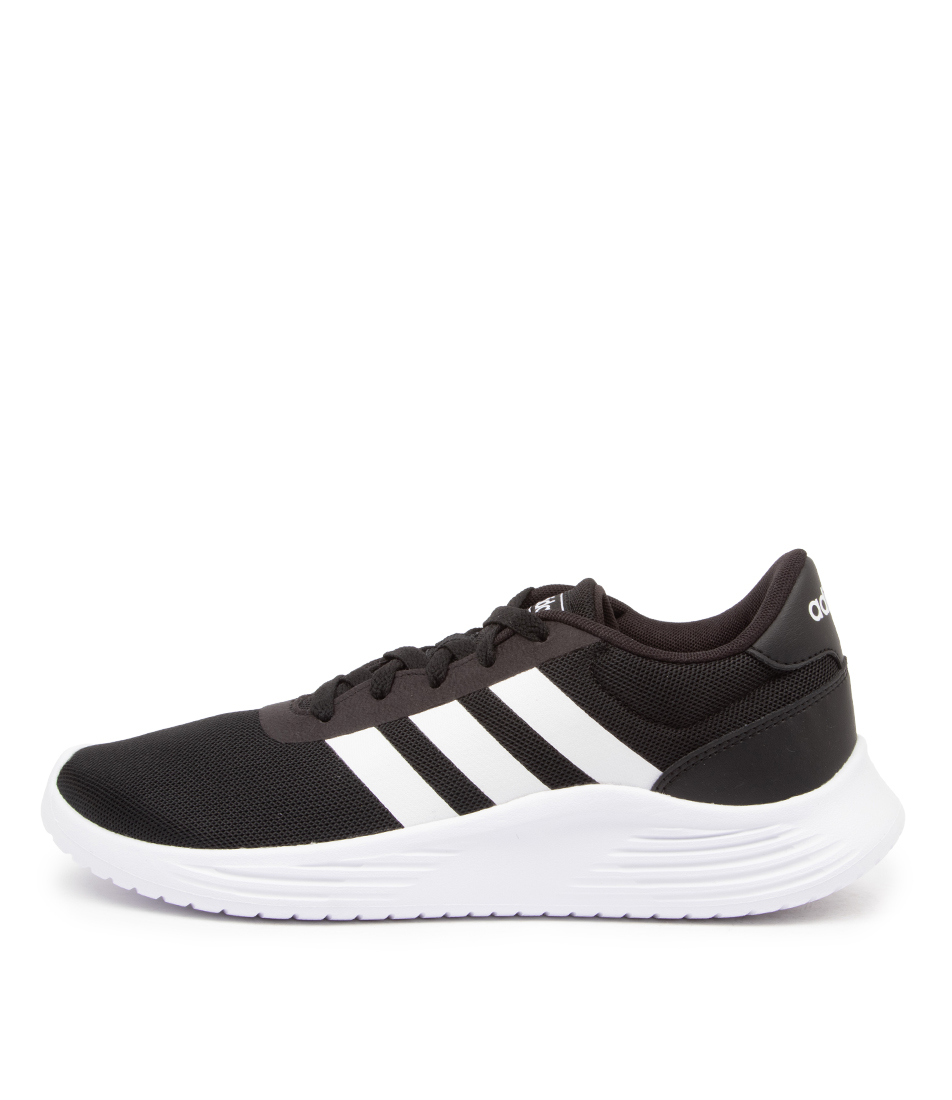 Buy Adidas Lite Racer 2.0 W Ad Black White Bla Sneakers online with free shipping