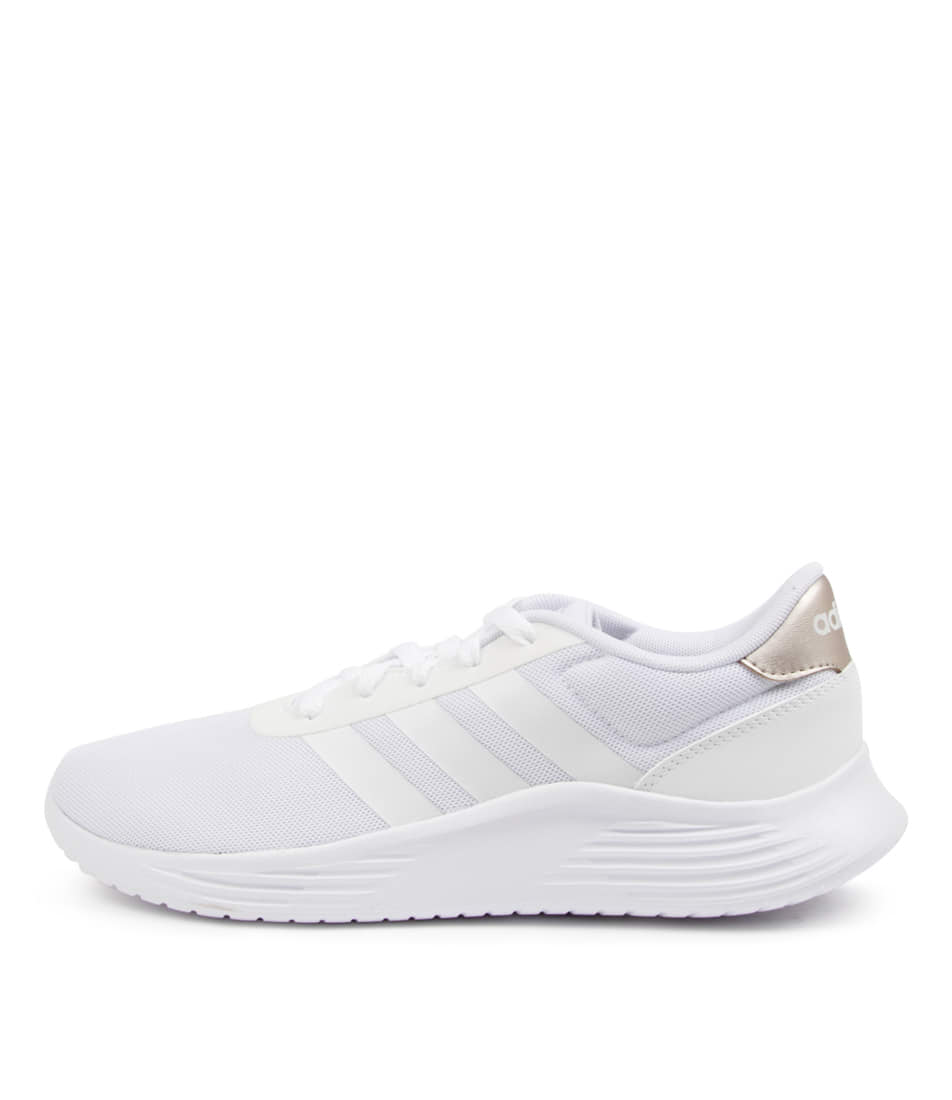Buy Adidas Lite Racer 2.0 W Ad Grey White Champagne Sneakers online with free shipping
