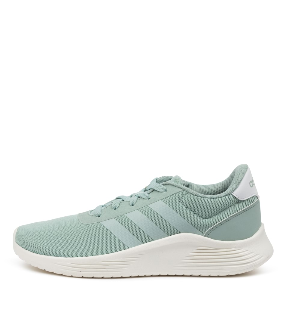 Buy Adidas Lite Racer 2.0 W Ad Green Green White Sneakers online with free shipping