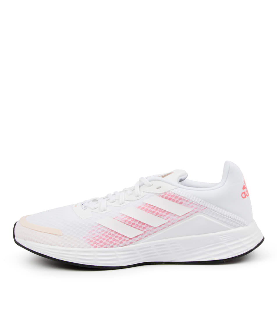 Buy Adidas Duramo Sl W Ad White White Signal Pink Sneakers online with free shipping