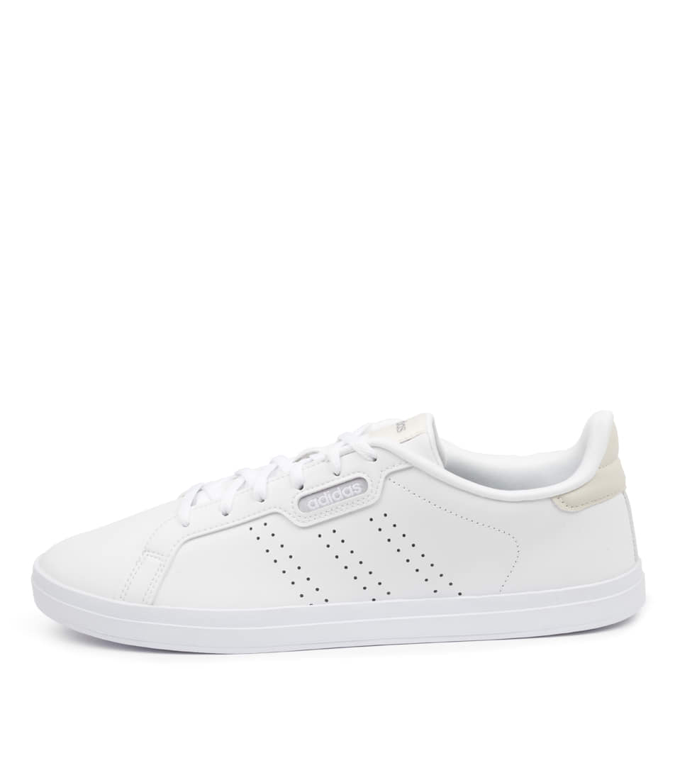 Buy Adidas Courtpoint Base W Ad White White Grey Sneakers online with free shipping