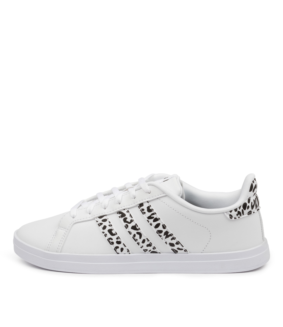 Buy Adidas Courtpoint X W Ad White White Black Sneakers online with free shipping