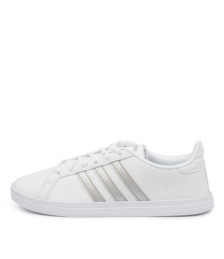 Buy Adidas Courtpoint W Ad White Silver Sneakers online with free shipping
