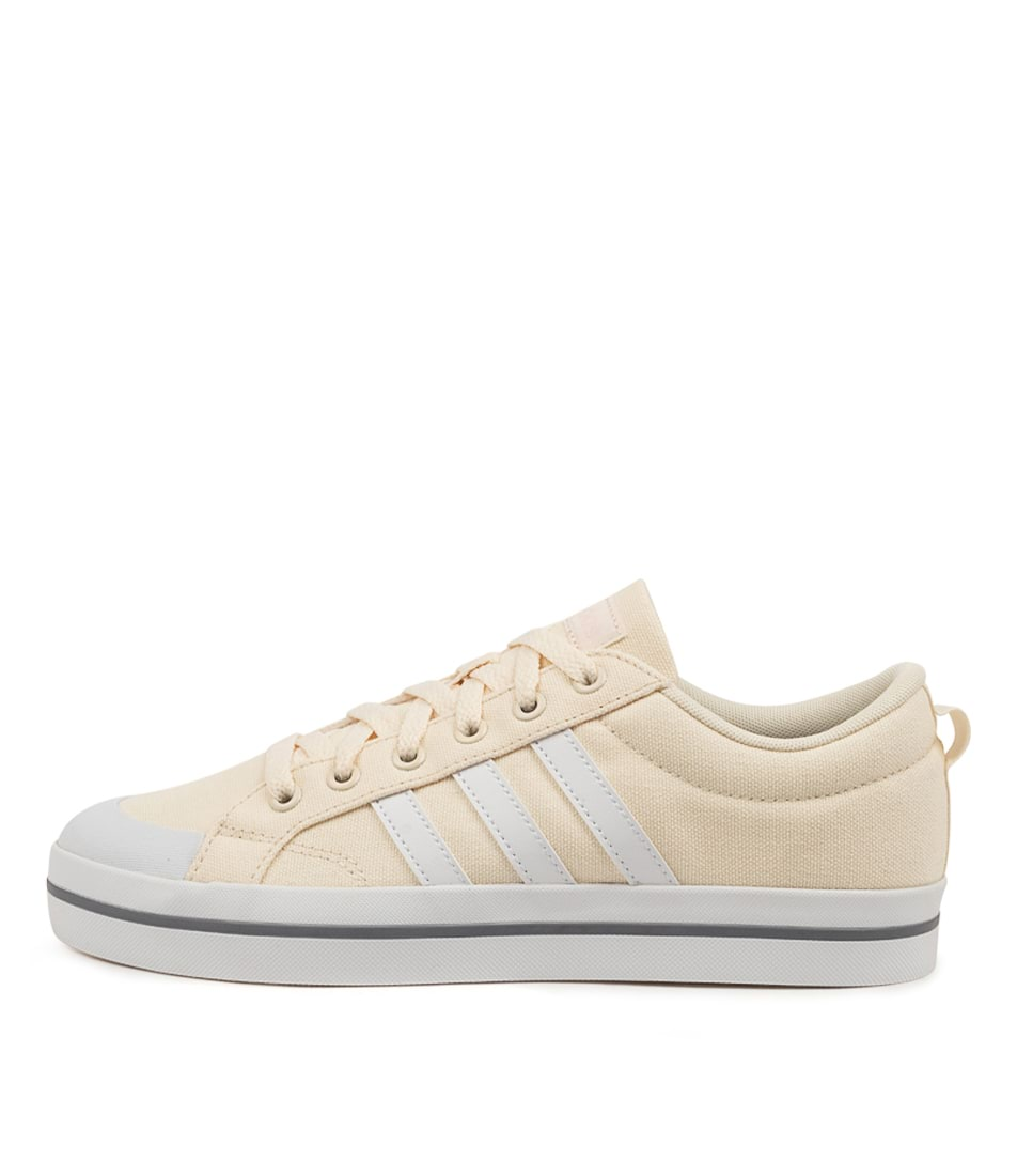 Buy Adidas Bravada W Ad White Clr Pink Sneakers online with free shipping