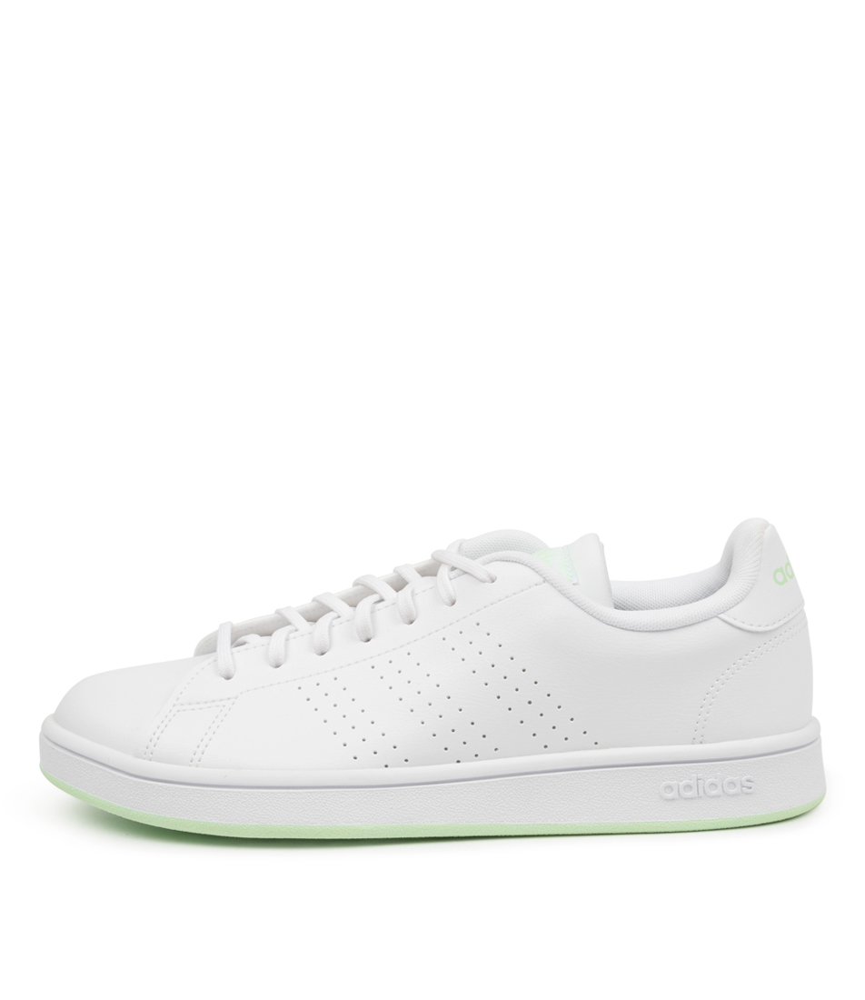 Buy Adidas Advantage Base W Ad White White Sneakers online with free shipping
