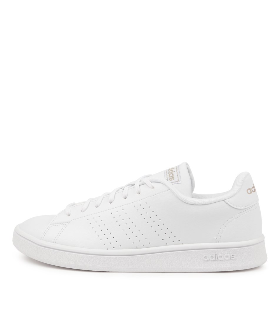 Buy Adidas Advantage Base W Ad White White Grey Sneakers online with free shipping