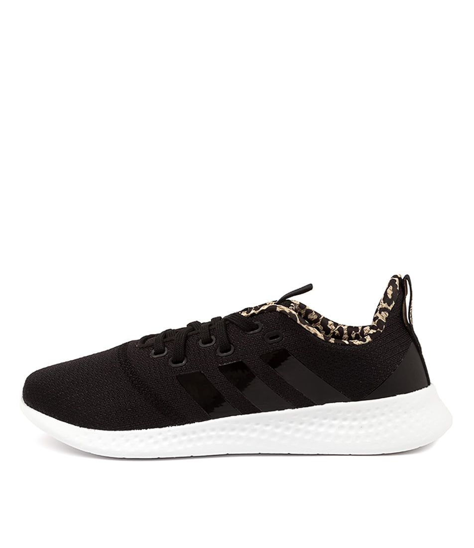 Buy Adidas Puremotion W Ad Black Black Cardboard Sneakers online with free shipping
