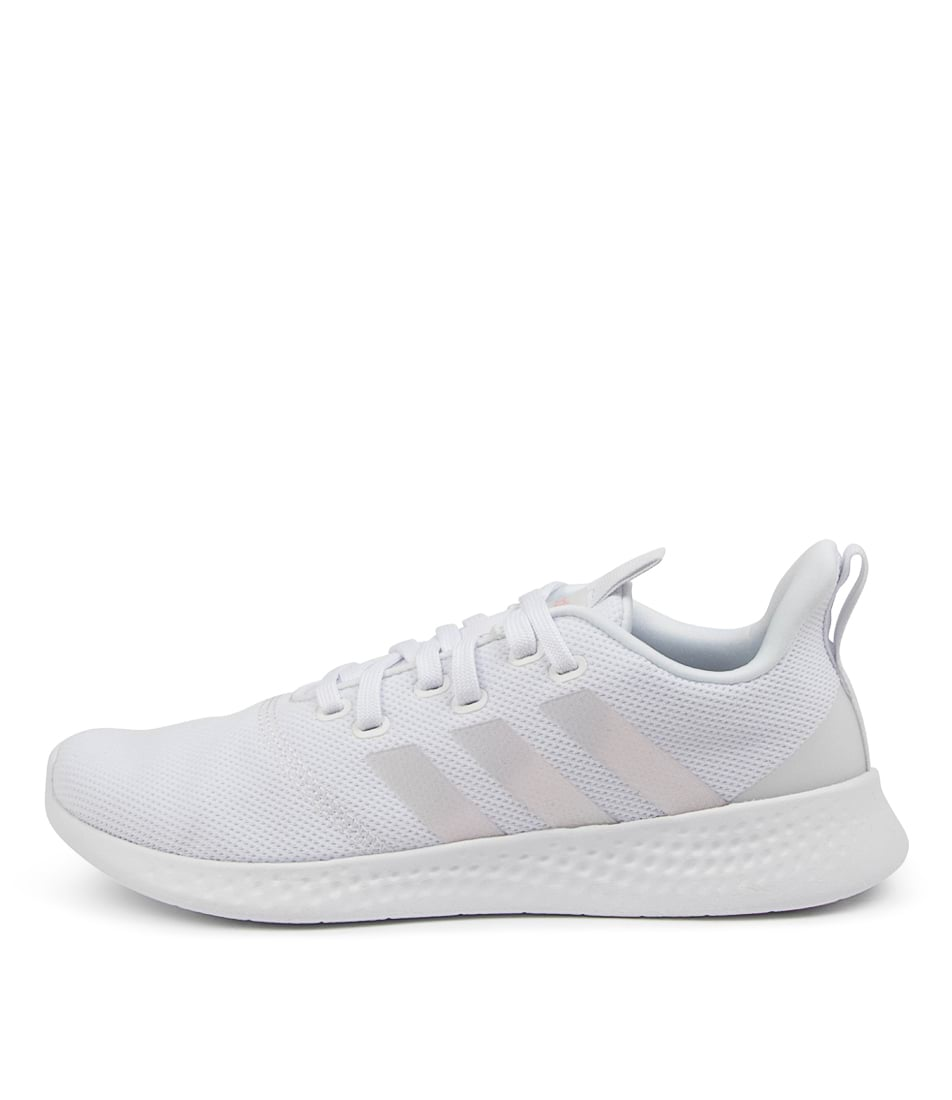 Buy Adidas Puremotion W Ad White Iridescent Clr Pink Sneakers online with free shipping
