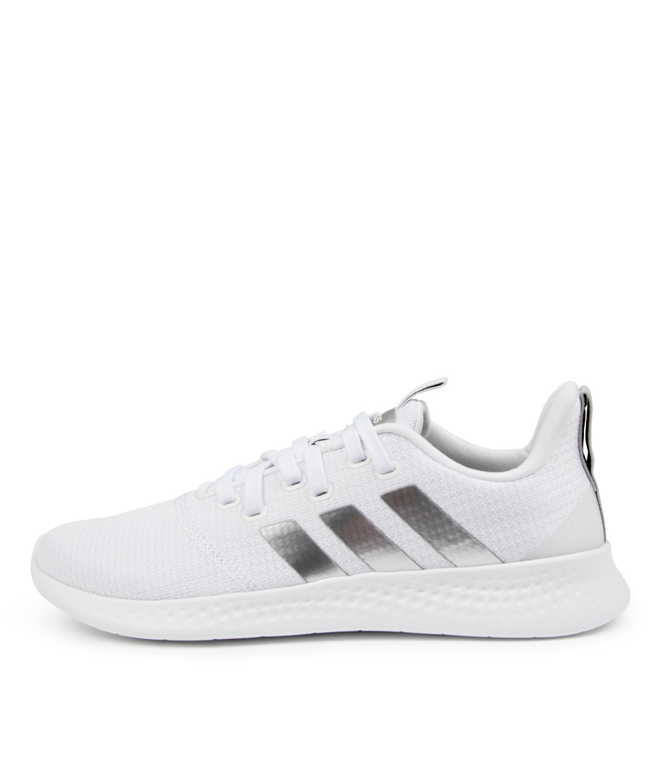 Buy Adidas Puremotion W Ad White Silver Sneakers online with free shipping