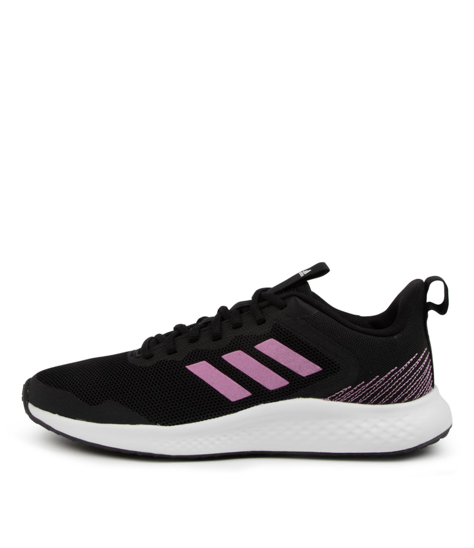 Buy Adidas Fluidstreet W Ad Black Cherry Sneakers online with free shipping