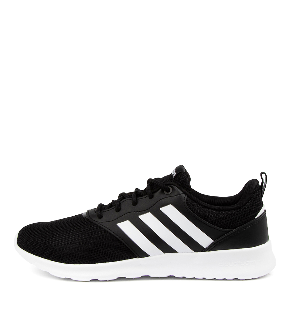 Buy Adidas Qt Racer 2.0 W Ad Black White Grey Sneakers online with free shipping