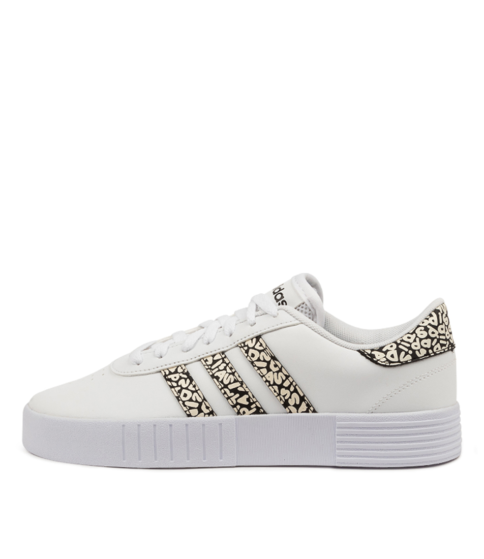 Buy Adidas Court Bold W Ad White Black White Sneakers online with free shipping