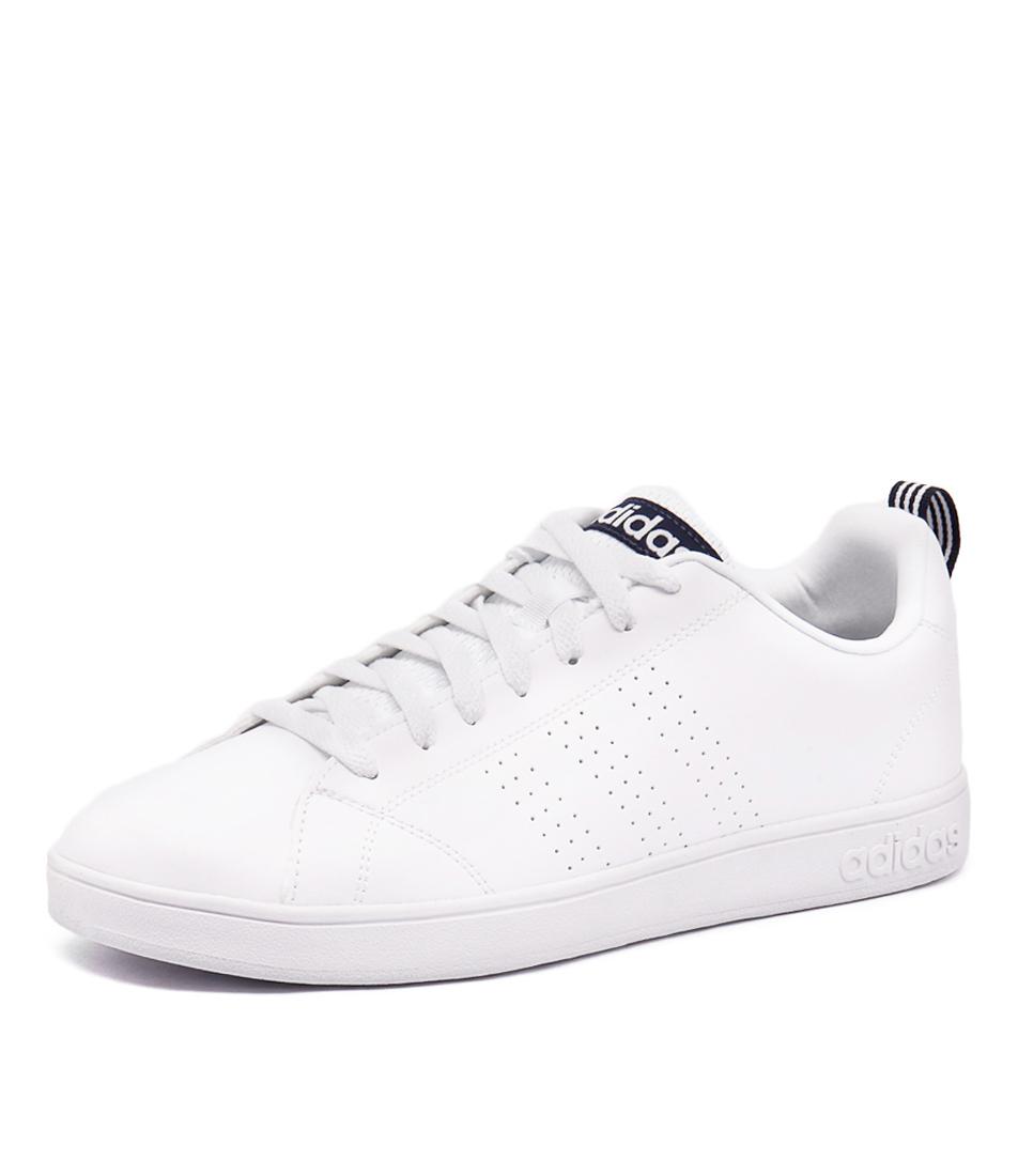adidas neo wit zwart