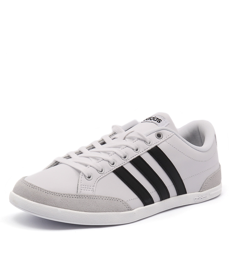 New Adidas Neo Caflaire White Black Sil Mens Shoes Casual Sneakers Casual