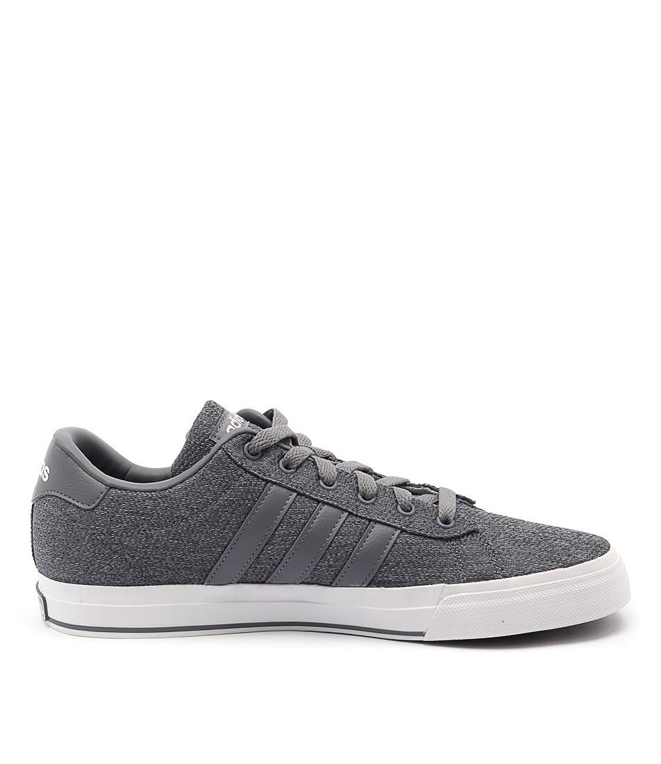 neue adidas neo - täglich grau, grau - weiß - mens schuhe lässige sneakers