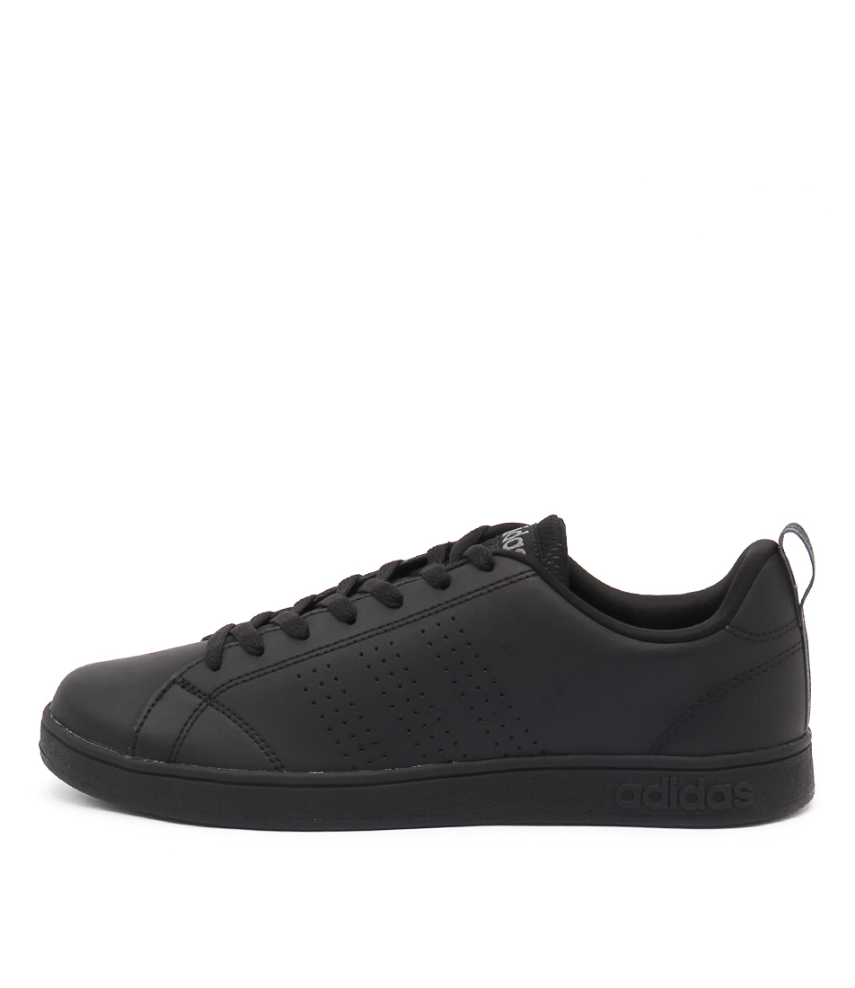 Details about New Adidas Neo Advantage Clean Vs Black Black Lea Mens Shoes Casual