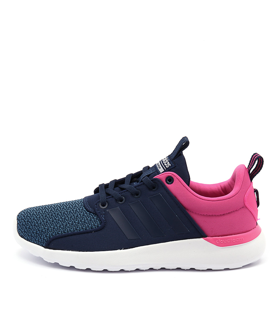 Adidas Neo Cloudfoam Lite Racer Blue Blue White Sneakers