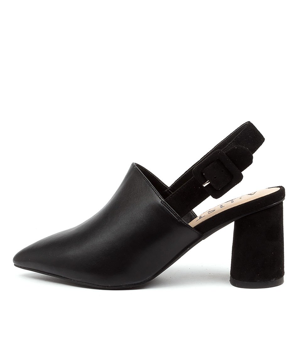 Buy A:List Campbell Ai Black High Heels online with free shipping