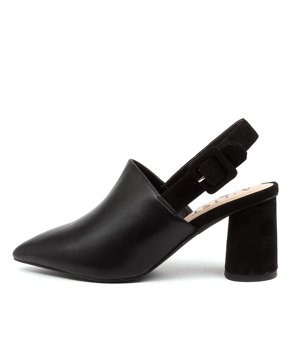 Buy A:List Campbell Ai Black Heeled Shoes online with free shipping