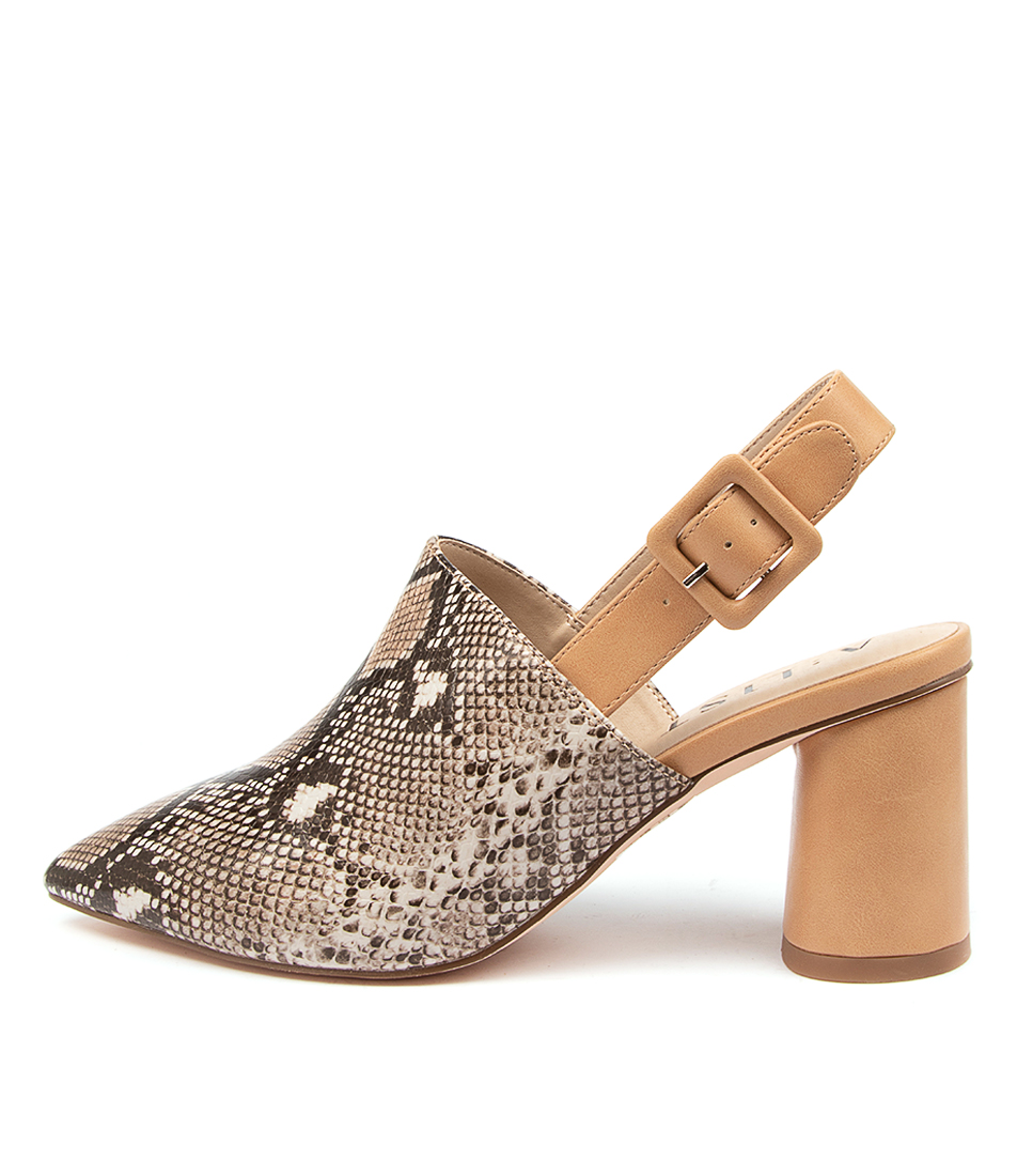 Buy A:List Campbell Ai Camel Heeled Shoes online with free shipping