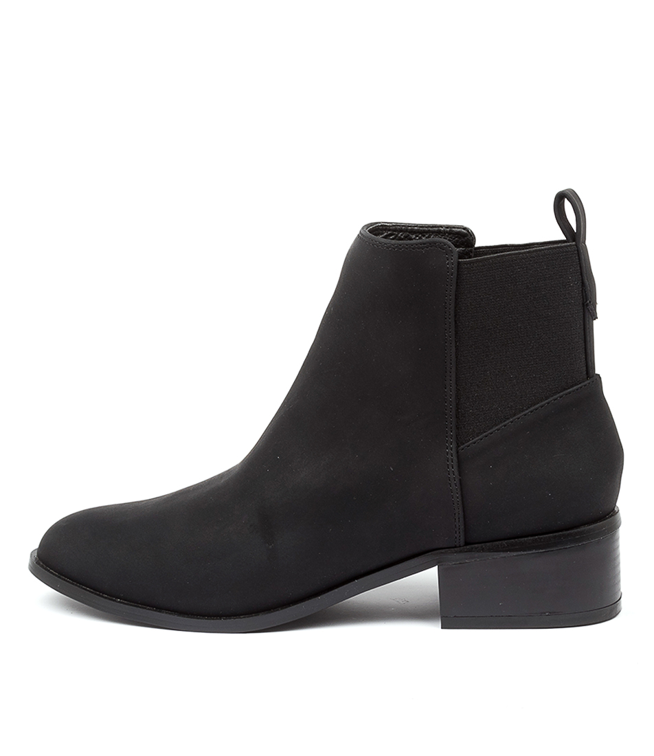 Buy A:List Aniston Ai Black Ankle Boots online with free shipping