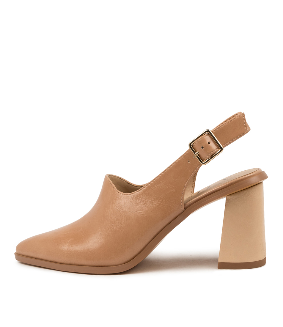 Buy A:List Halle Ai Nude High Heels online with free shipping