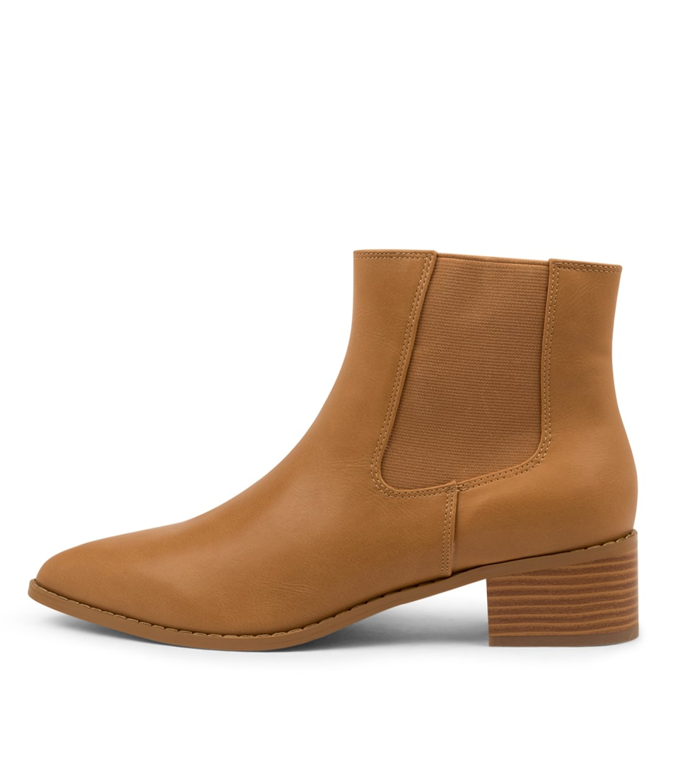 Buy A:List Lori Ai Tan Ankle Boots online with free shipping