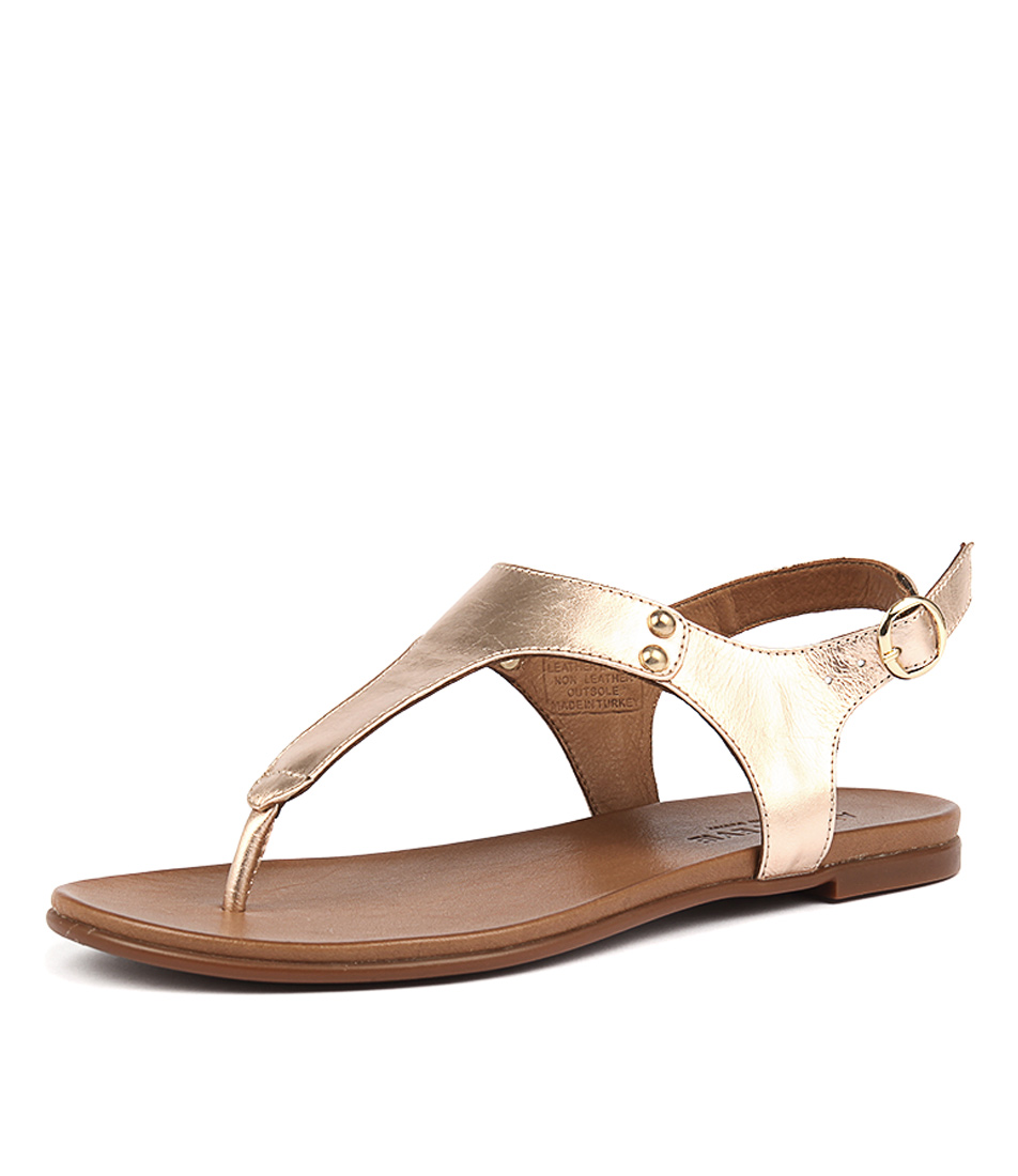 Alfie & Evie Lissie Rose Gold Sandals