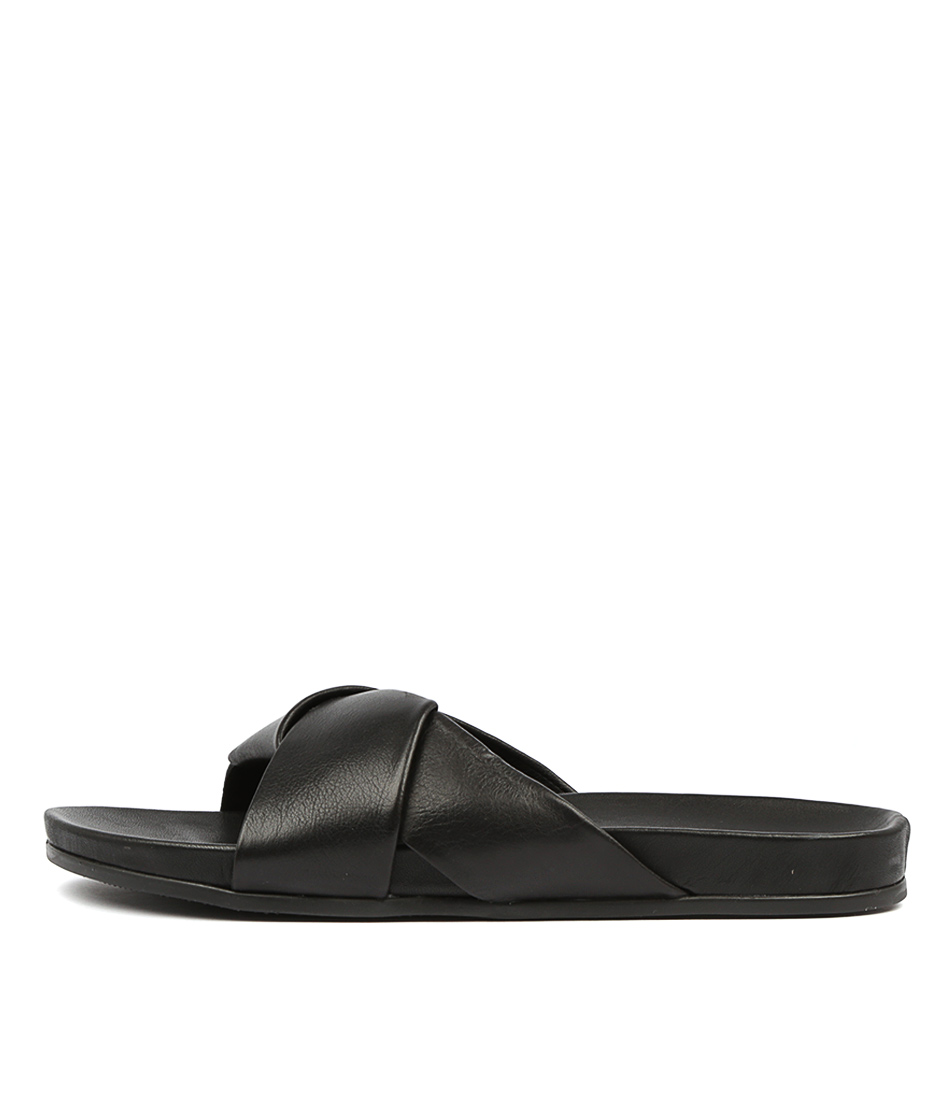 Alfie & Evie Tide Al Black Sandals