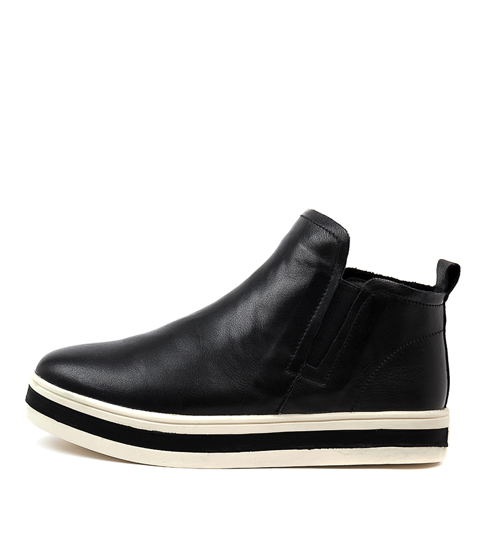 Buy Alfie & Evie Peggie Al Black Ankle Boots online with free shipping