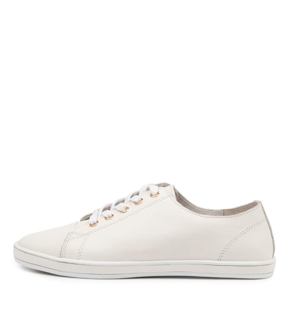 Buy Alfie & Evie Greenie Al White Sneakers online with free shipping
