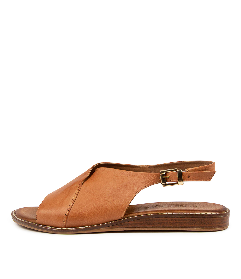 Buy Alfie & Evie Pyramid Al Coconut Flat Sandals online with free shipping