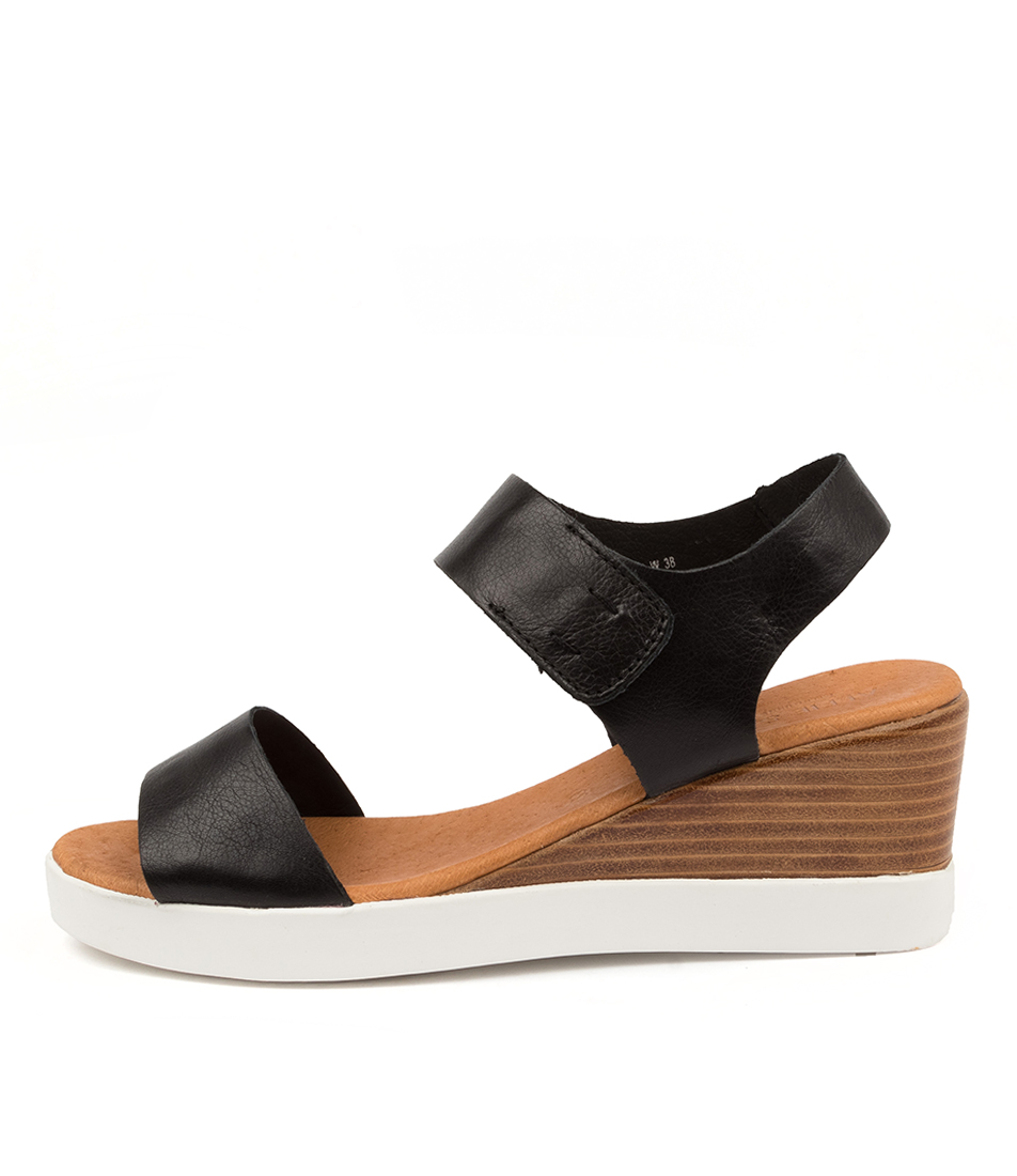 Buy Alfie & Evie Emmanuel Al Black Heeled Sandals online with free shipping