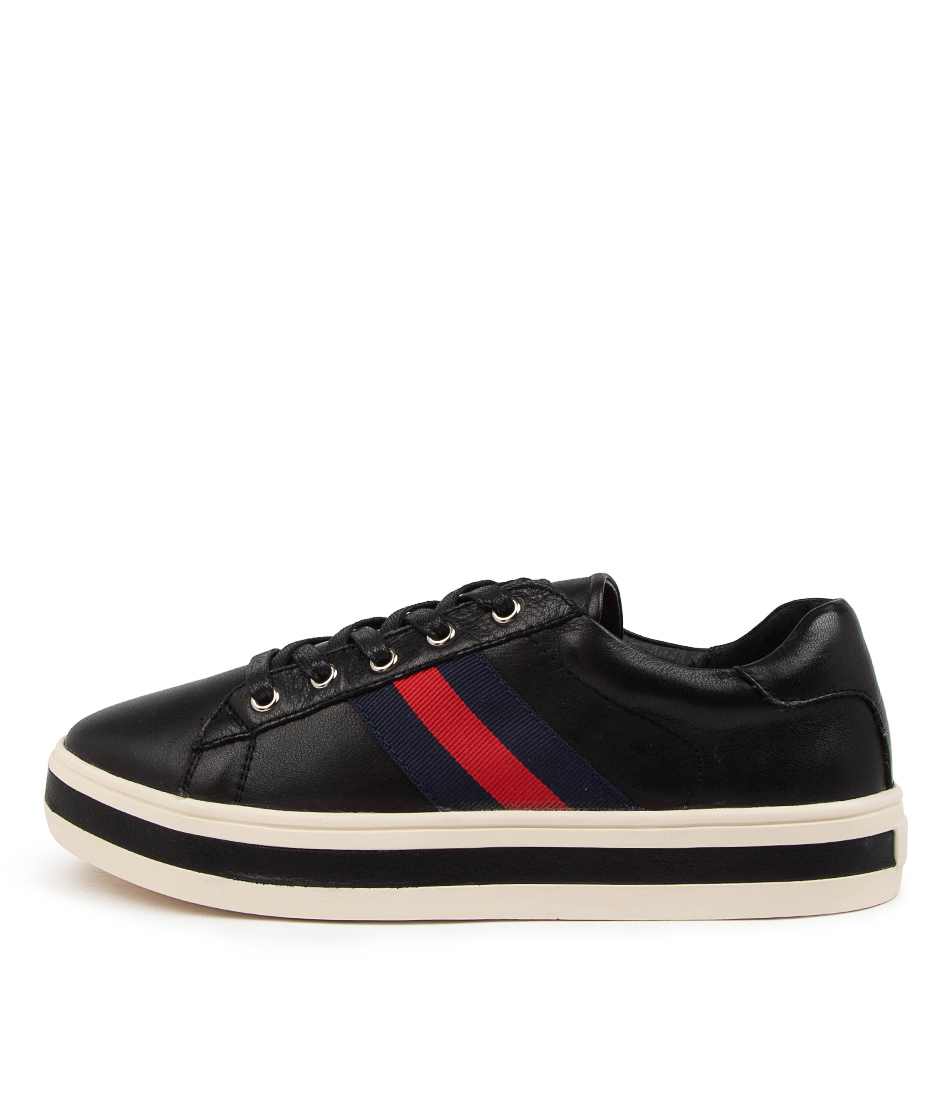 Buy Alfie & Evie Pepe Al Black Sneakers online with free shipping