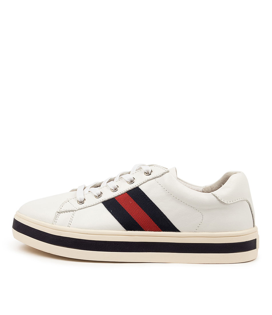 Buy Alfie & Evie Pepe Al White Sneakers online with free shipping