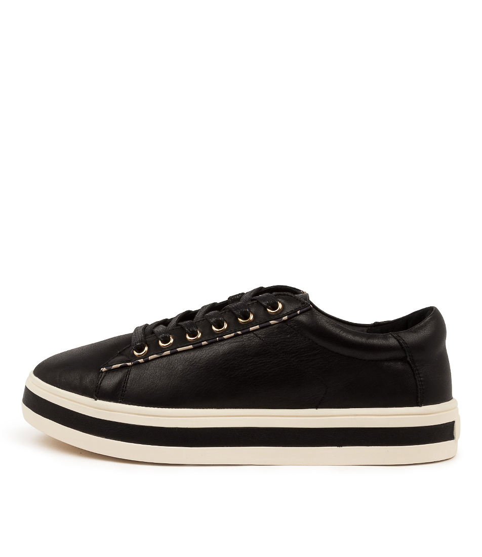 Buy Alfie & Evie Panache Al Black Sneakers online with free shipping