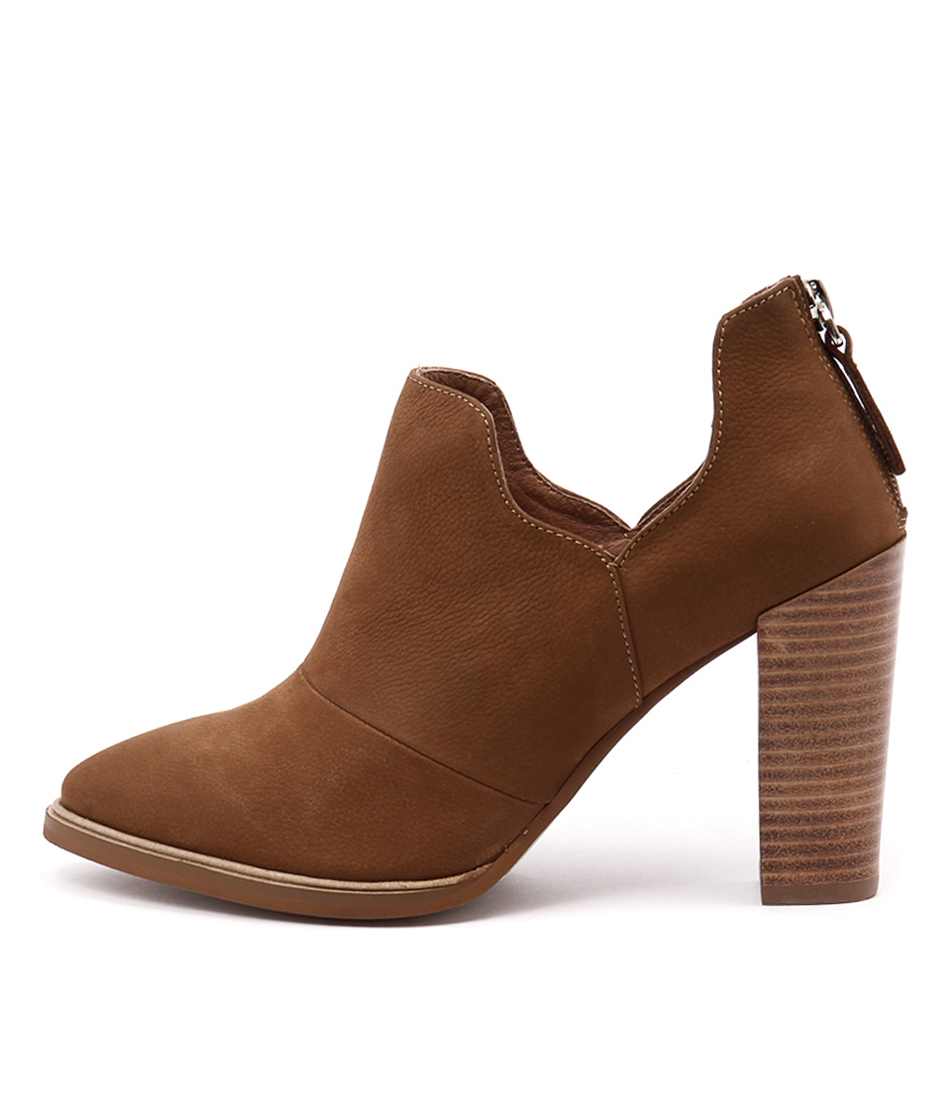 Alias Mae Alfie Tan Dress Ankle Boots