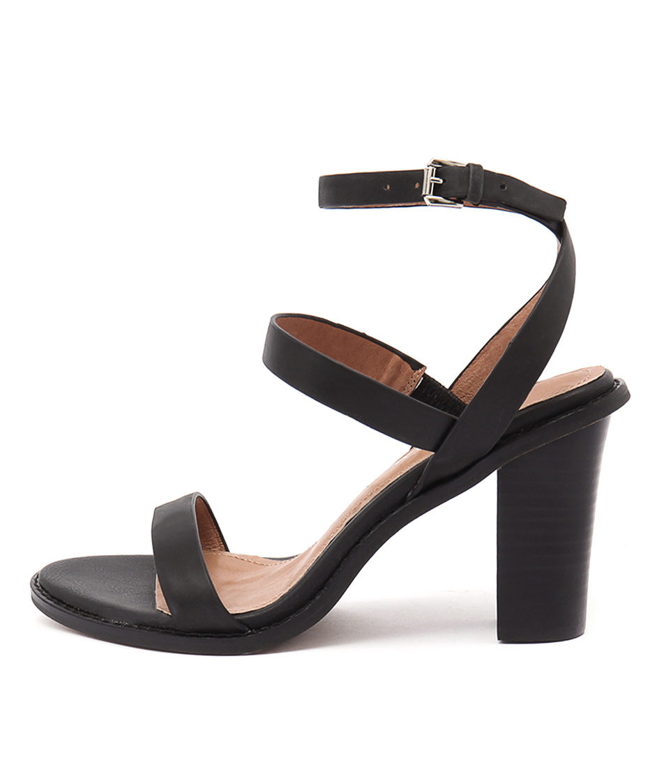Alias Mae Erma Black Dress Heeled Sandals