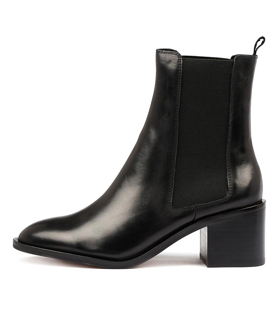 Alias Mae Gail Black Ankle Boots