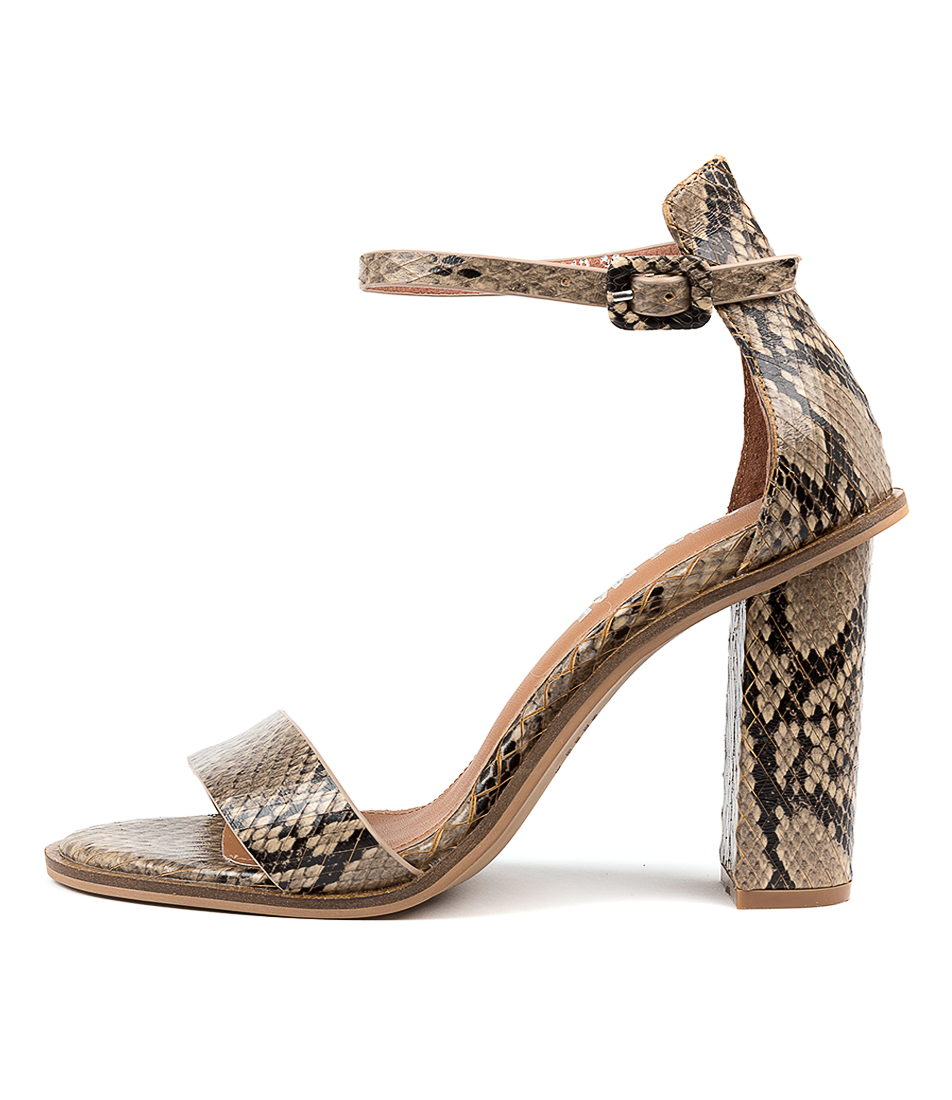 Buy Alias Mae Addax Beige Heeled Sandals online with free shipping