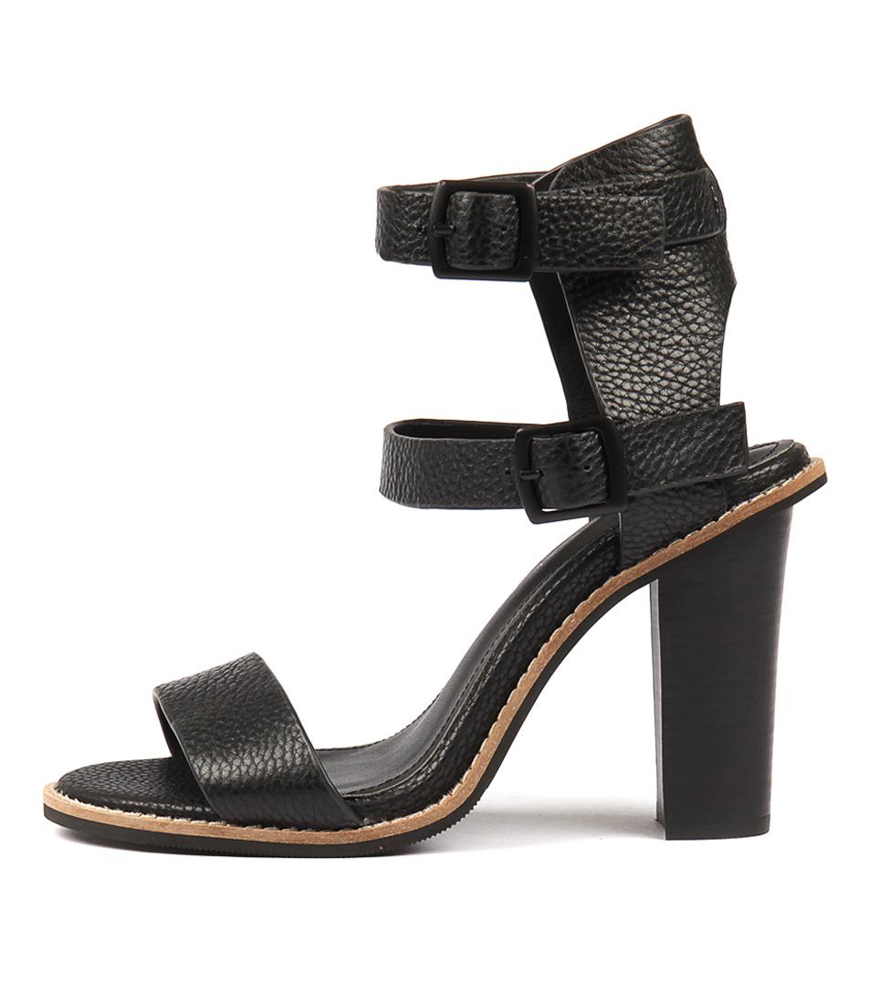 Alias Mae Casper Black Heeled Sandals