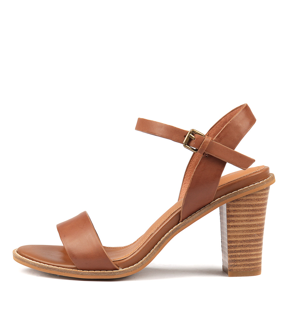 Buy Alias Mae Era Am Tan Heeled Sandals online with free shipping