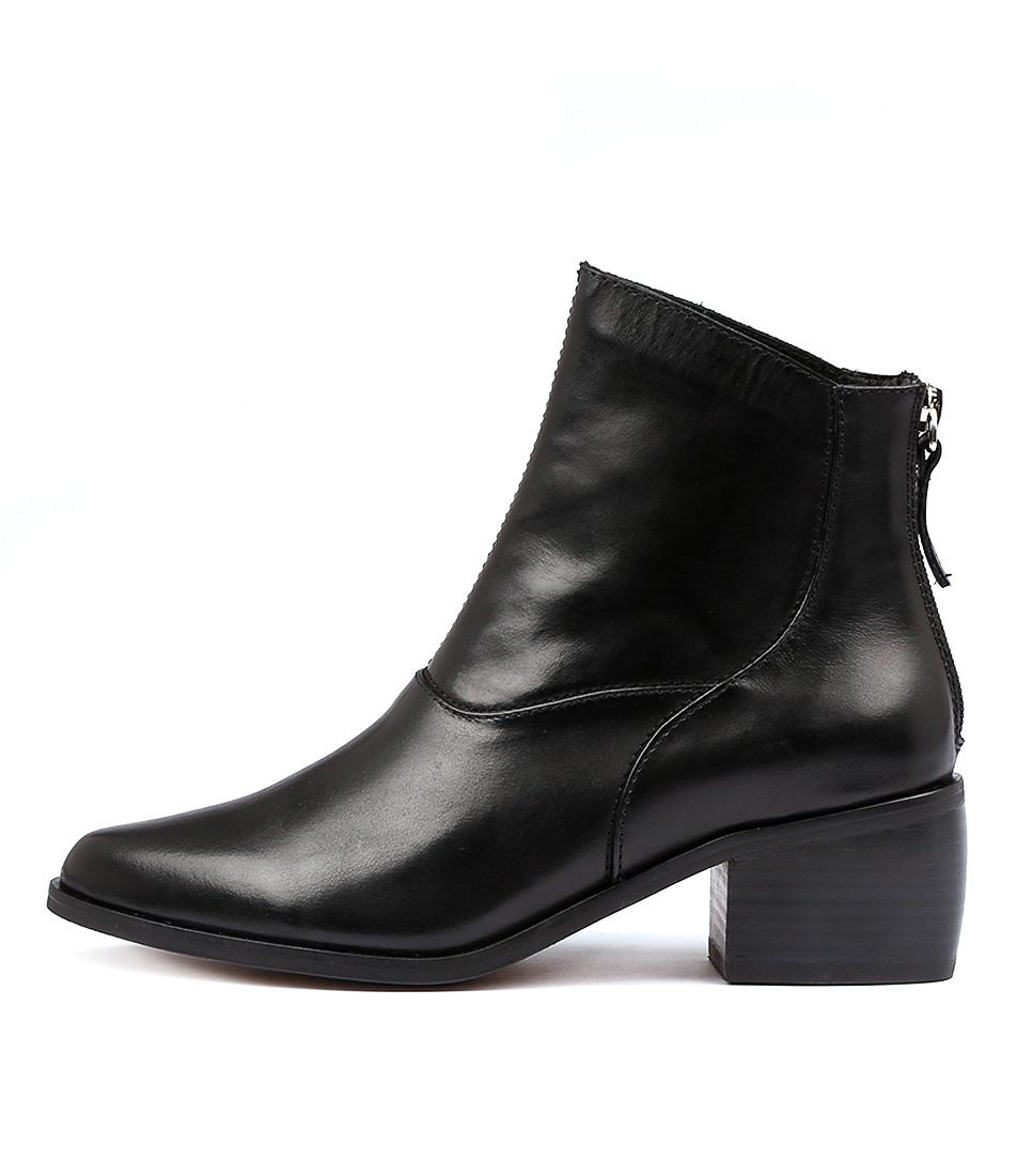 Alias Mae Genevieve Black Ankle Boots
