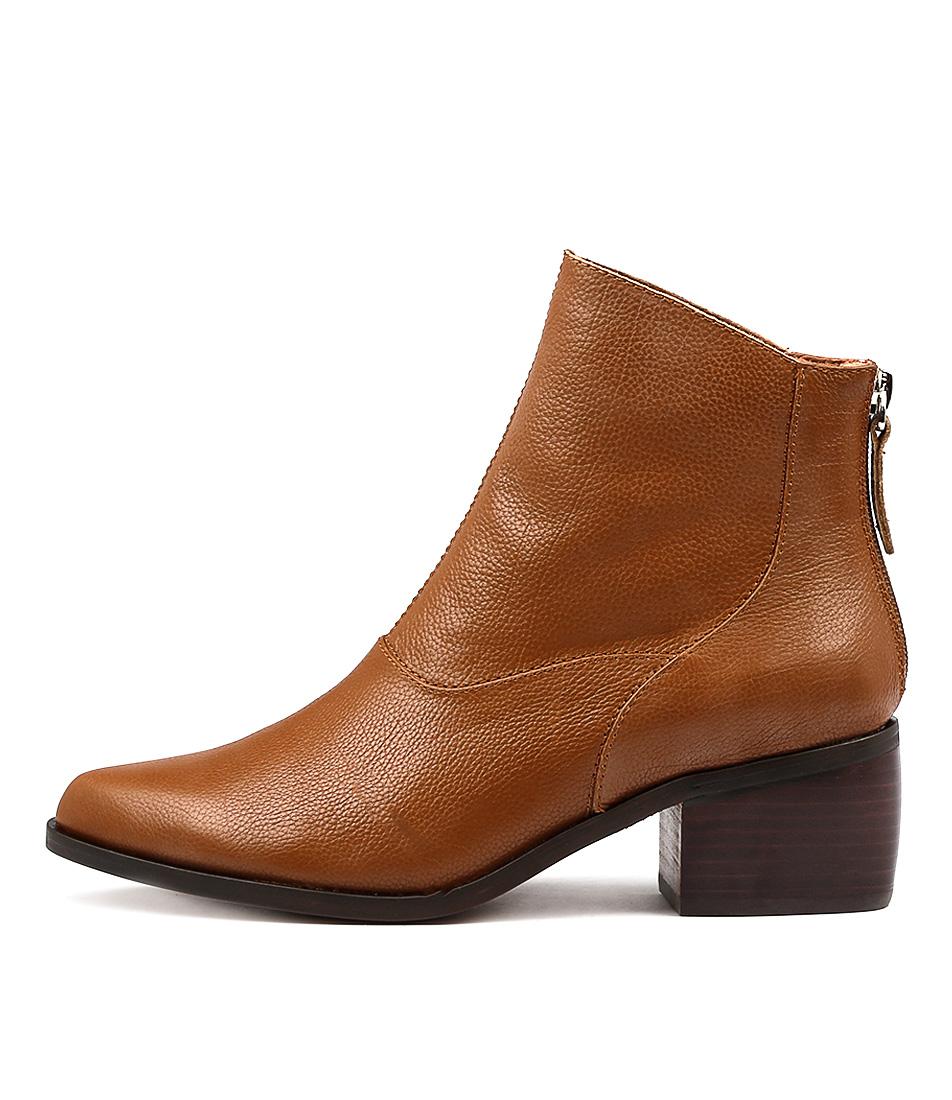 Alias Mae Genevieve Tan Ankle Boots